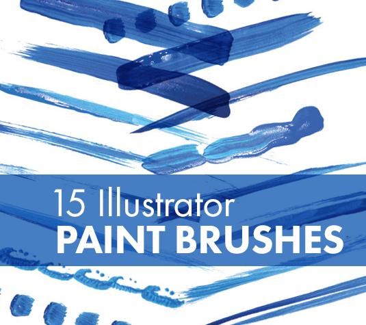 Best free Illustrator brushes - 15 paint brushes