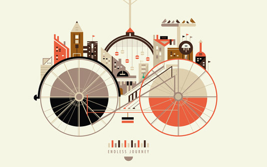 Travel posters - cycling