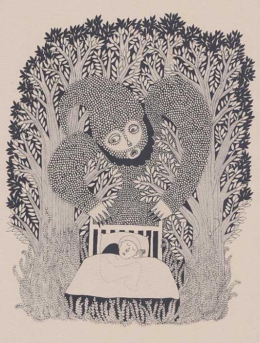 Screen prints: Ester Mcmanus