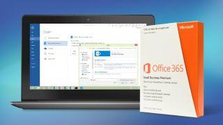 Office 365 interface