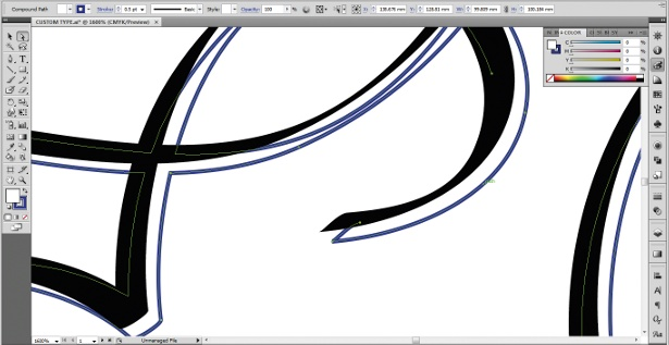 Use the Calligraphic Brush tool: step 14