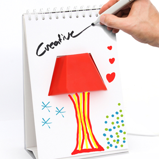 Doodle desklamp