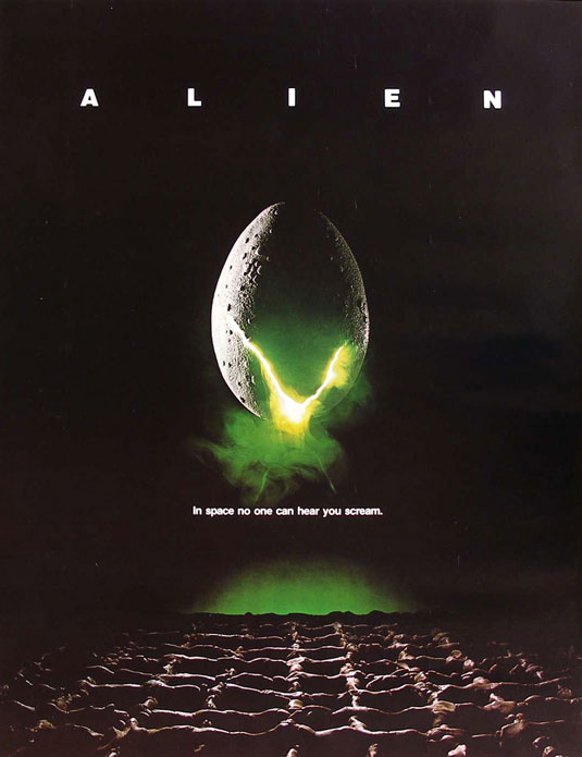 Movie posters: Alien