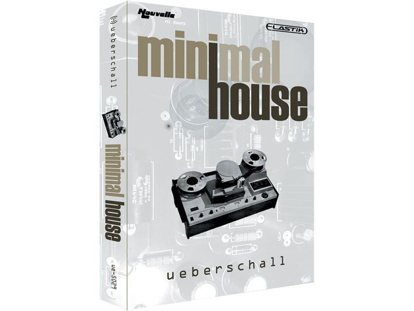 Ueberschall minimal house review musicradar for Minimal house music