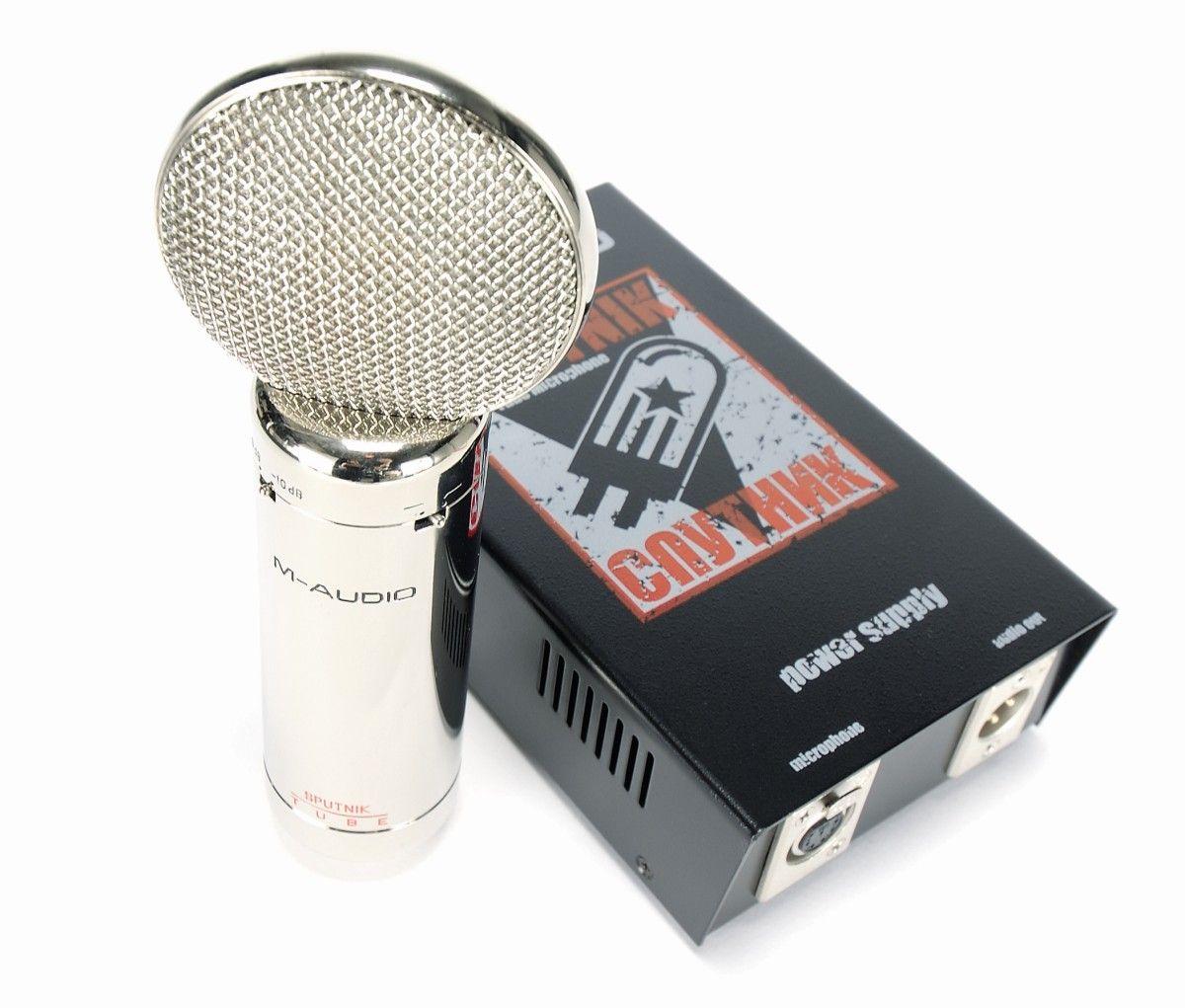 m audio sputnik tube microphone review musicradar. Black Bedroom Furniture Sets. Home Design Ideas