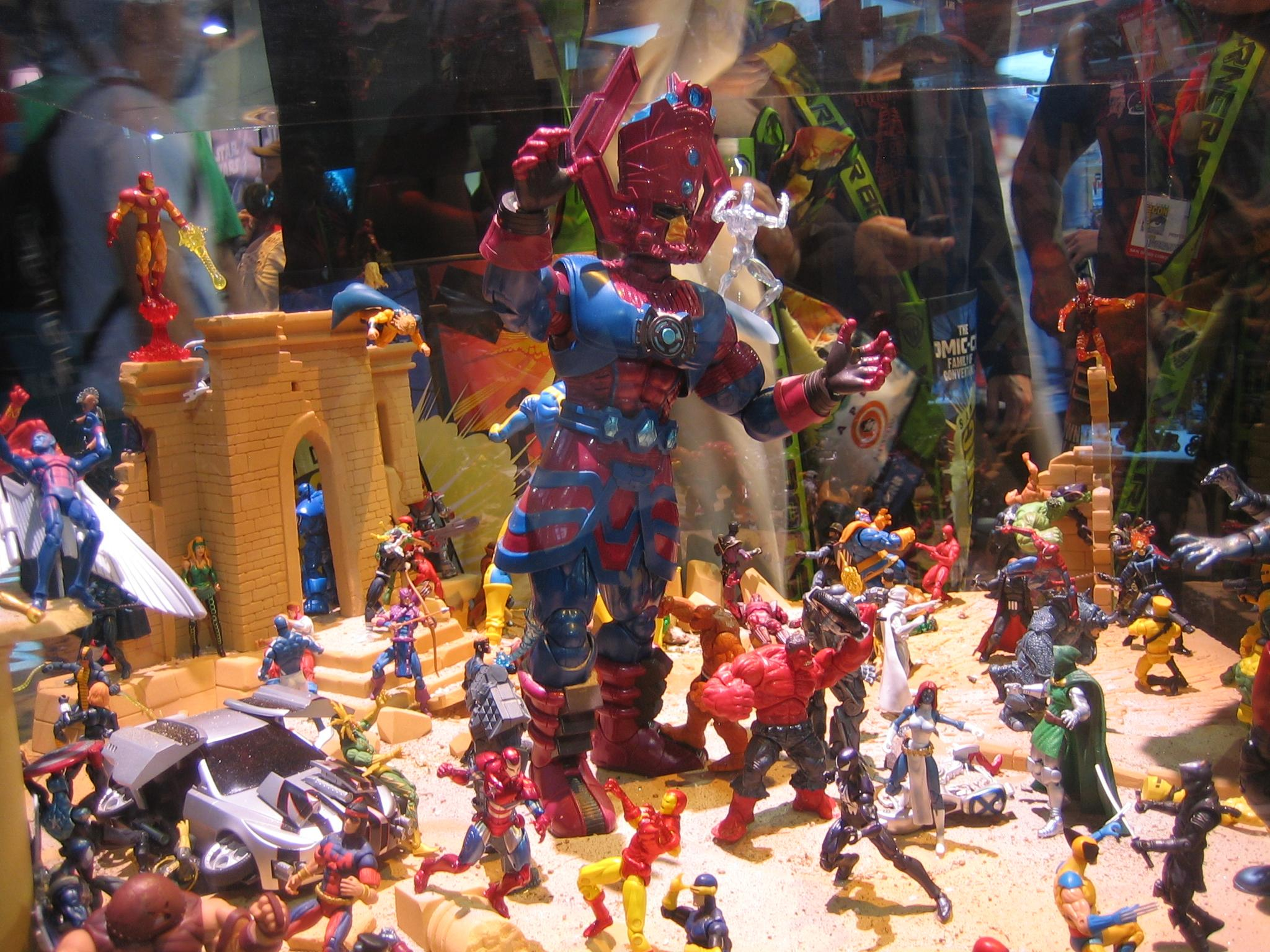 Make Your Own Diorama: Stunning Marvel Diorama Looks Like That Awesome Scene You