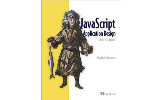 JavaScript Application design cover