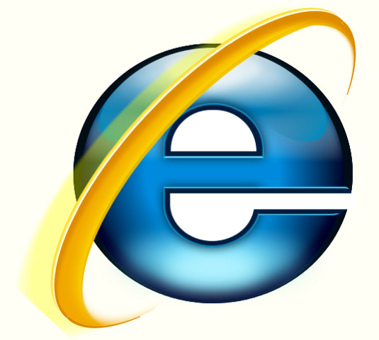 CSS3 images: IE logo