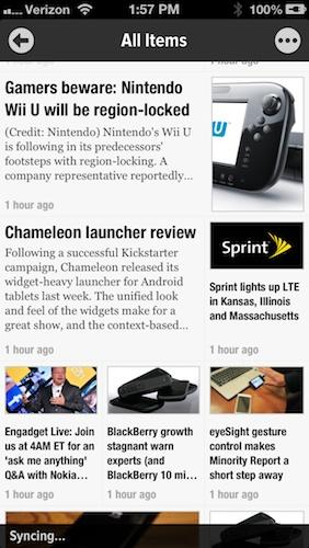 Newsify for iPhone