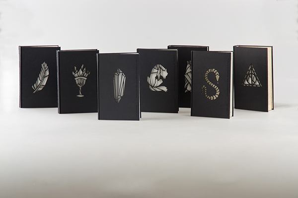 harry potter book designs