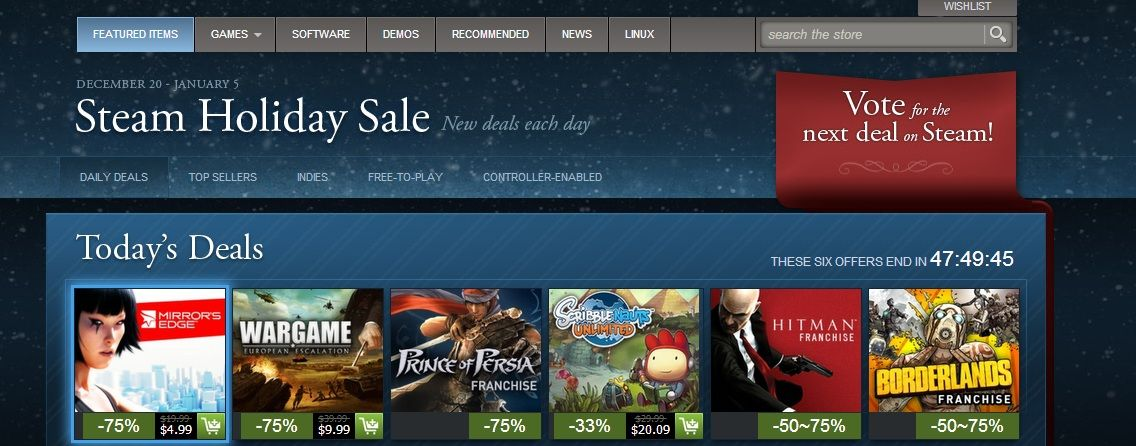 how to know when steam games go on sale