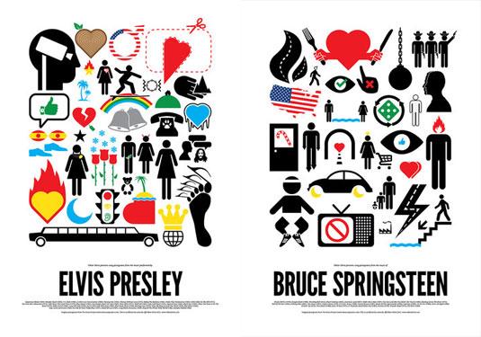 pop star pictograms