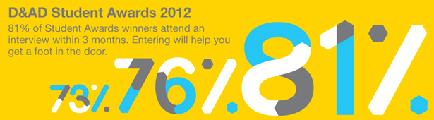 D&AD Student Awards 2012: what you need to know