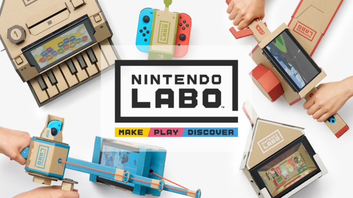 Every Labo toy we know about so far - including the 9 Nintendo isn't talking about