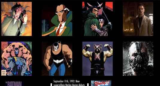 Batman infographic: Bat history