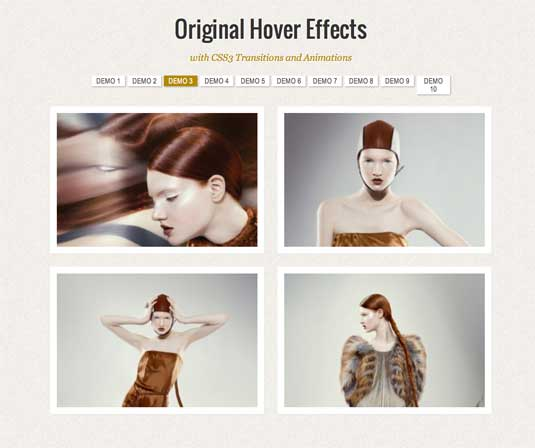 CSS3 animation: Original Hover Effects