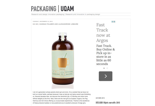 Packaging UQAM