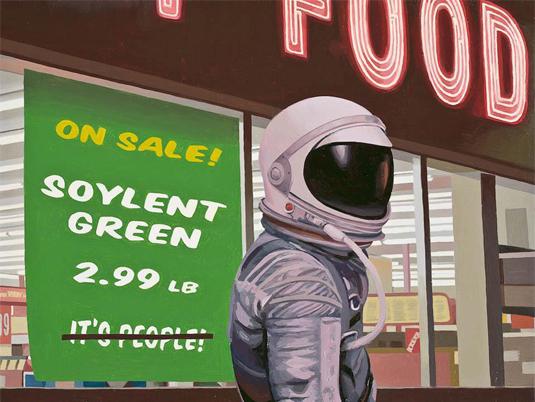 astronaut paintings