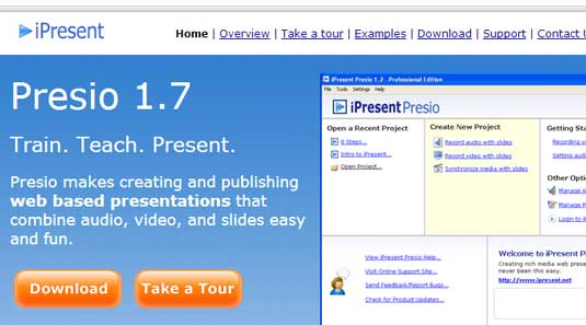 How to create a presentation: iPresent