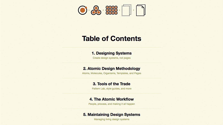 New skills in web design - Modular design