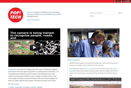tumblr blogs for designers: Pop tech
