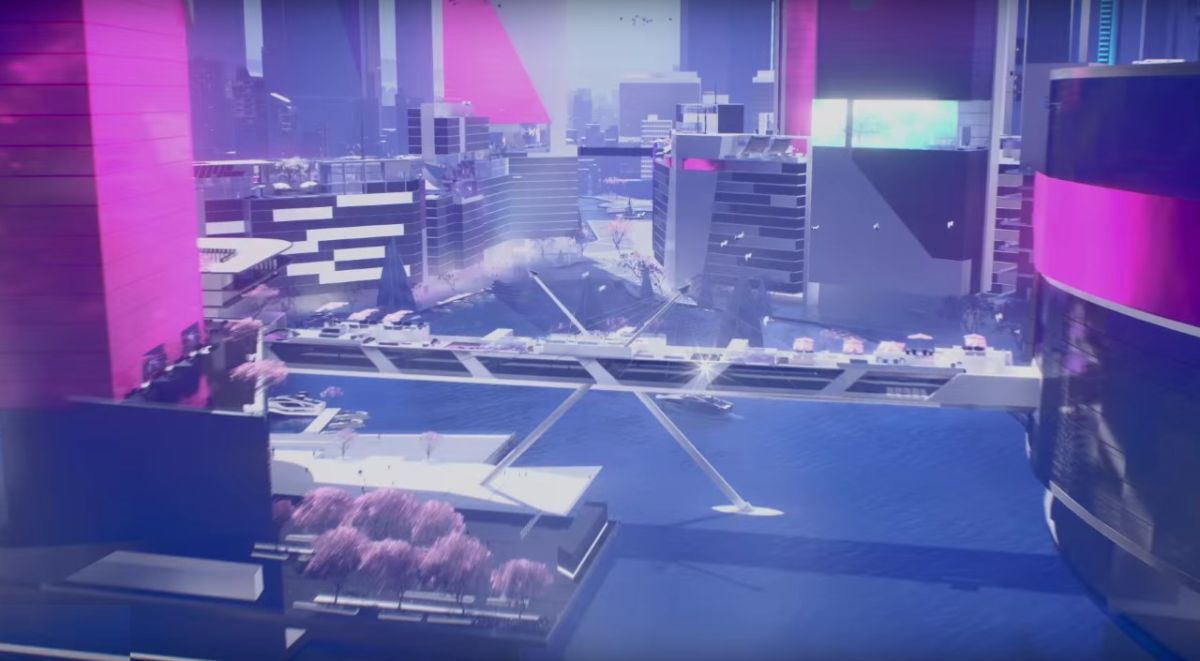Mirror's Edge Catalyst trailer shows off the gleaming City ...