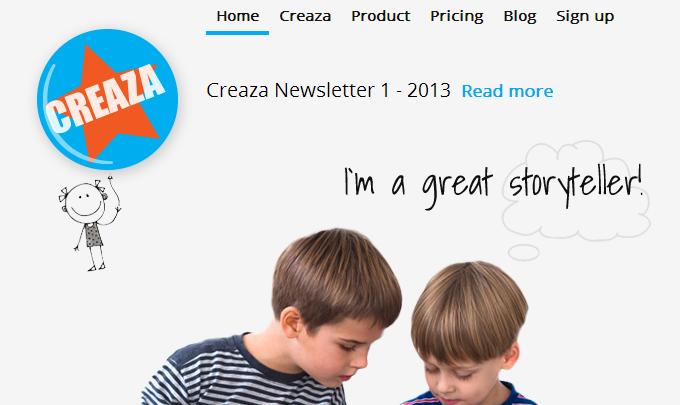 Animation tools: Creaza