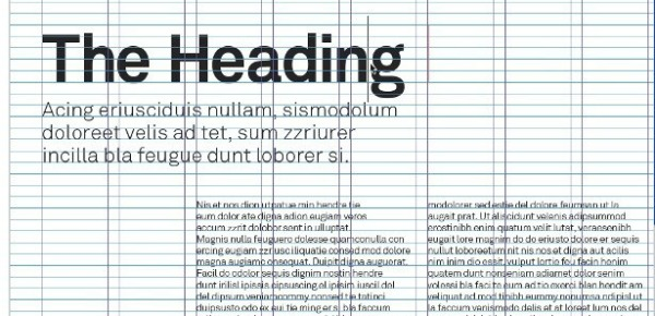 Typography tutorials: well-planned grid