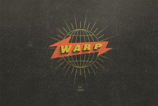 record label logos: warp