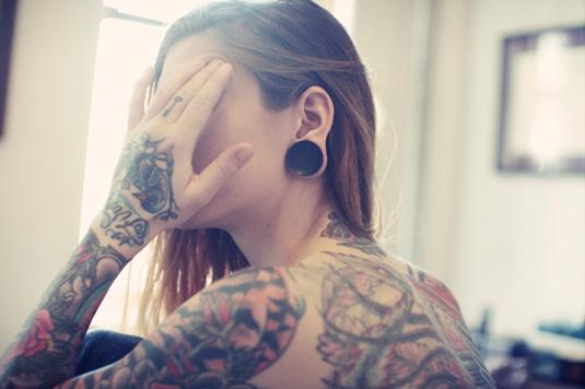 awesome tattoos: Sara Blake
