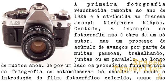 Typewriter fonts: Erased Typewriter