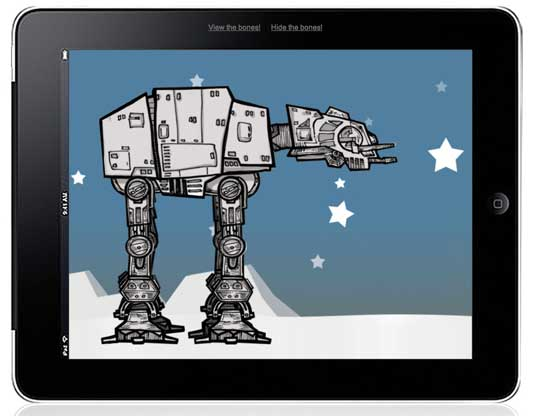 CSS3 animation: AT-AT Walker