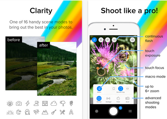 Best photo apps: Camera +