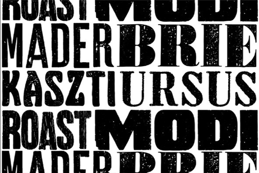 Letterpress Collection font