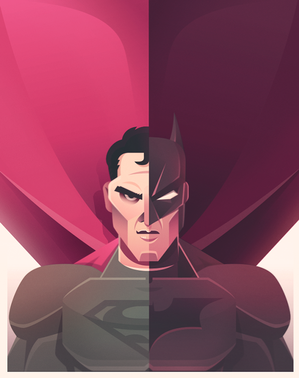 dawn of justice fan art