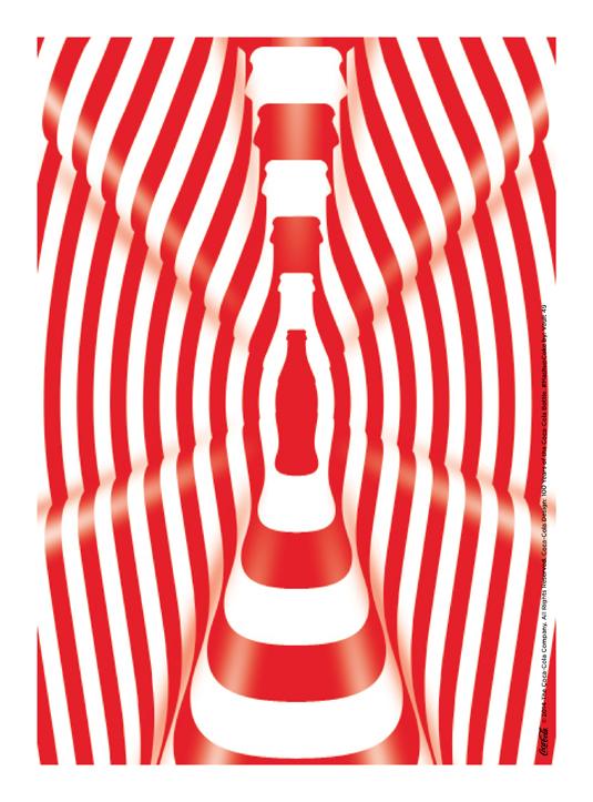 coca-cola mash-up bottle