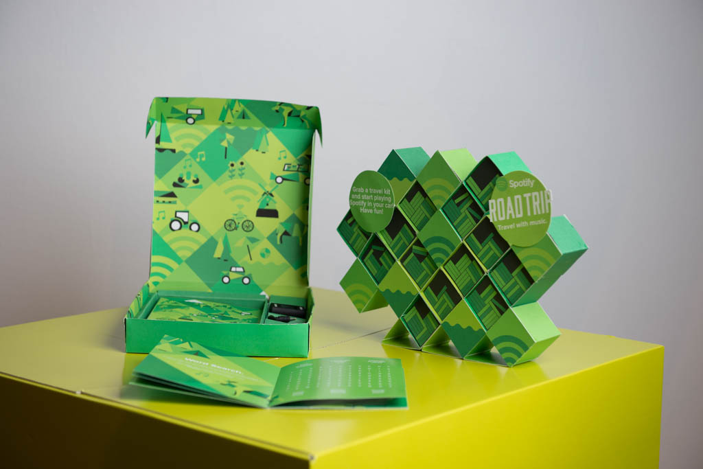 spotify packaging