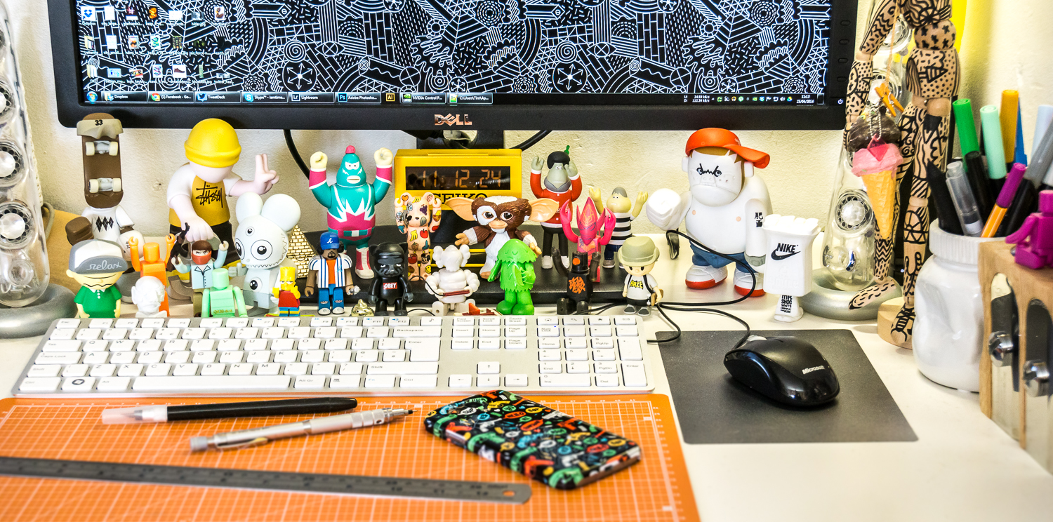 Toys For Office : Inspiring design toys for your desk creative bloq