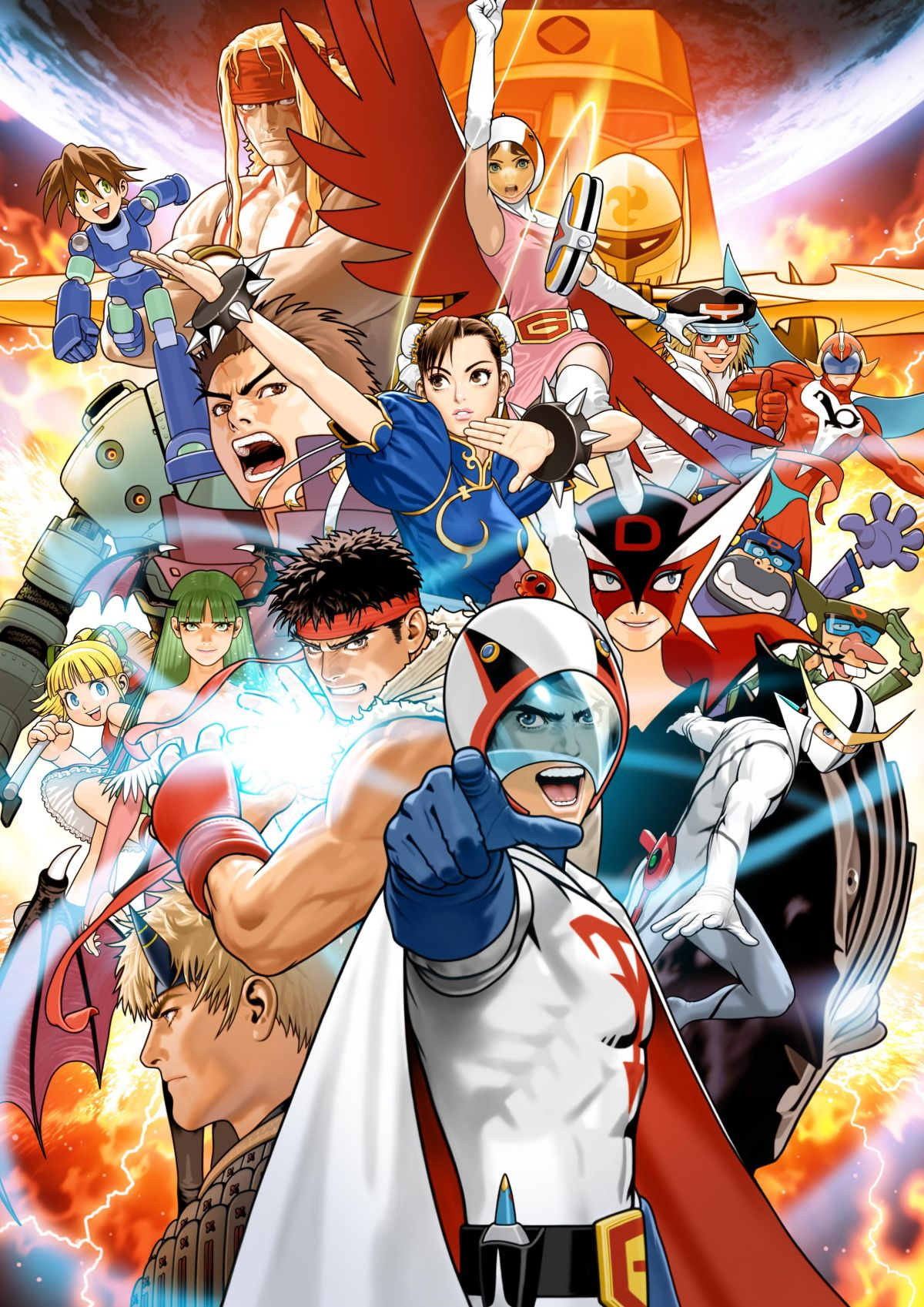 The Characters Of The Cups: The 28 Characters Of Tatsunoko Vs Capcom