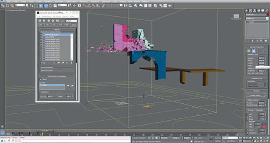 Destruction simulation