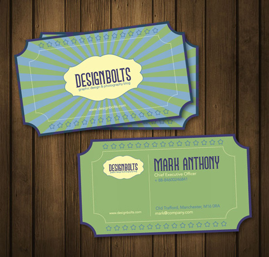 11 of the best free business card templates kinginexile retro template free business card templates reheart Gallery
