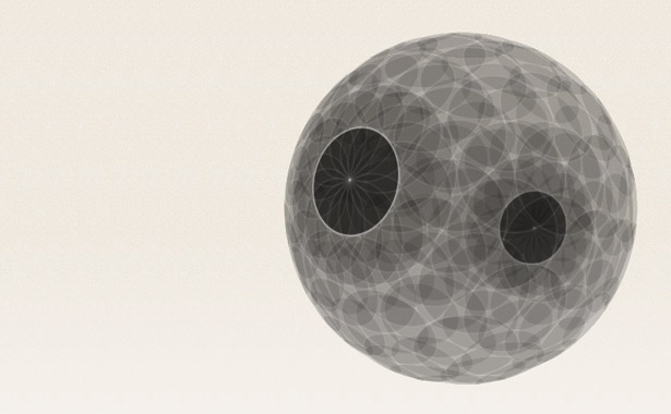 CSS 3D transforms: 3D Sphere and Tetrahedron