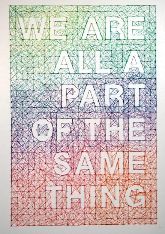 Dominique Falla - We Are All Part of the Same Thing