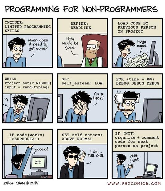 PhD comics programmer
