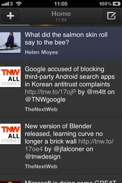 TweetDeck for iOS