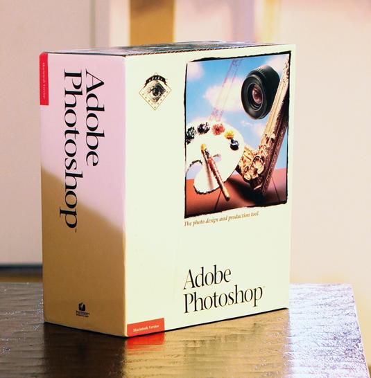 Photoshop 1.0 boxshot