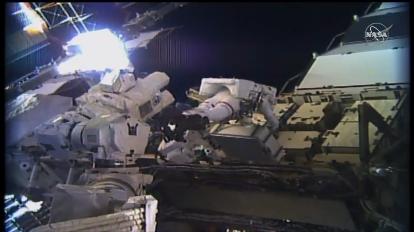 NASA Astronauts Make History with 1st All-Female Spacewalk