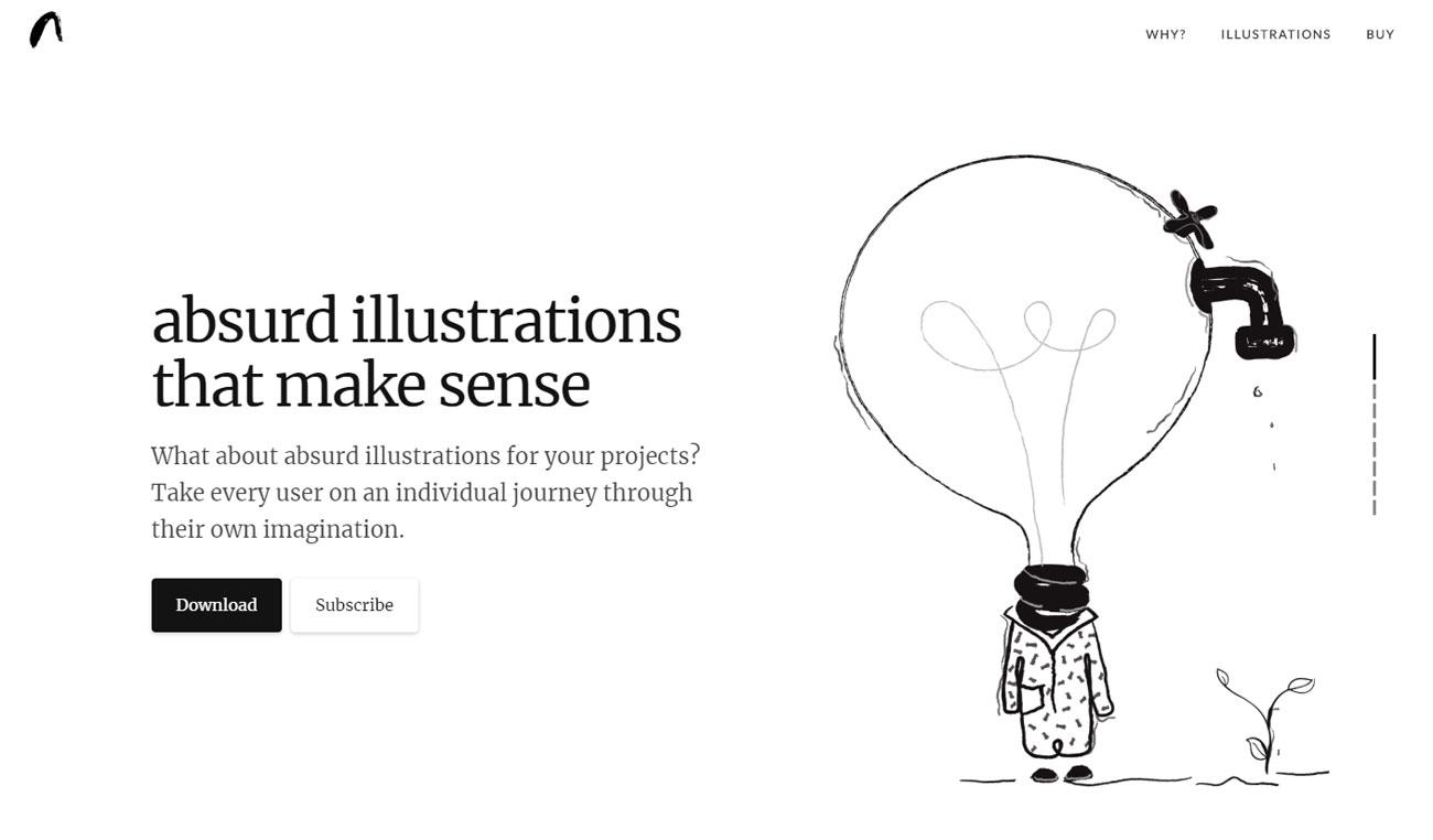 The best new web design tools of 2019 so far: Absurd Design
