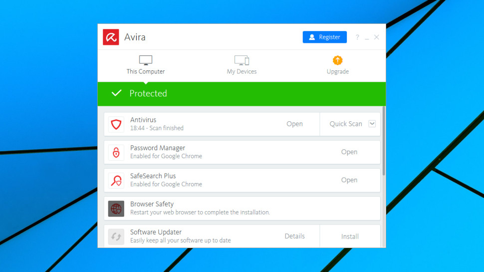 install avira free antivirus