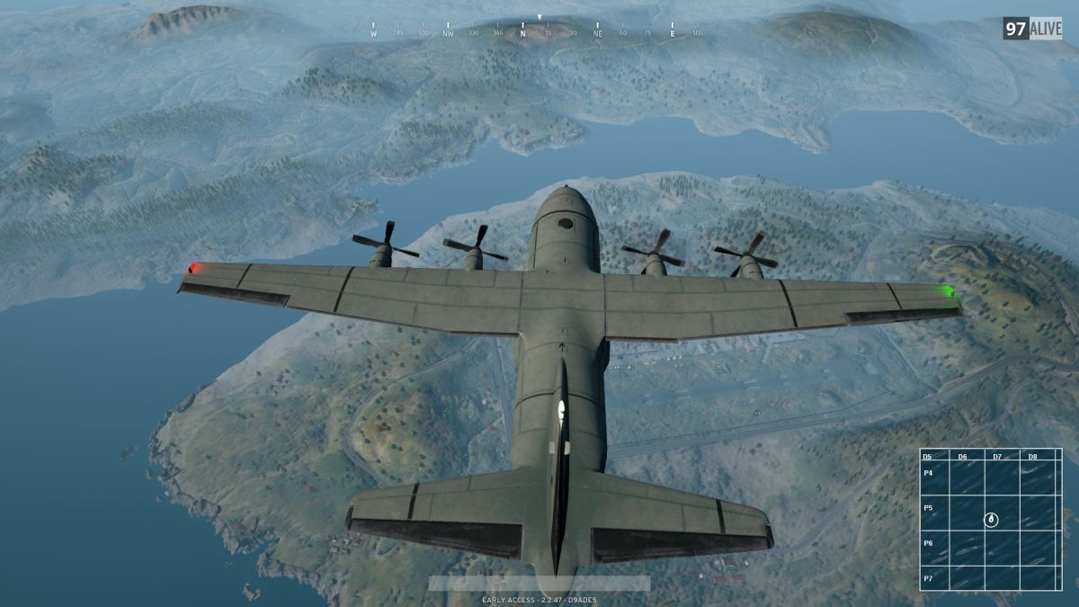 This interactive map makes it easy to remember where the damn plane went in Battlegrounds